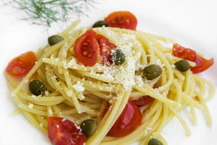 lemon-caper-spaghetti