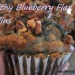 Healthy Blueberry Flax Muffins