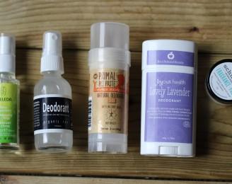 natural deodorant review