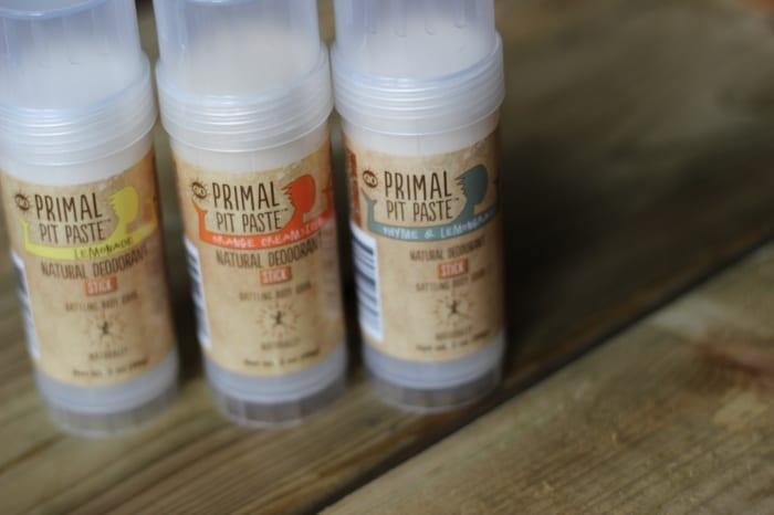 Primal pit paste deodorant