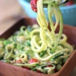 Creamy Avocado Zucchini Pasta | Healthy Summer Recipe
