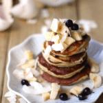 Healthy Banana Paleo Coconut Flour Pancakes