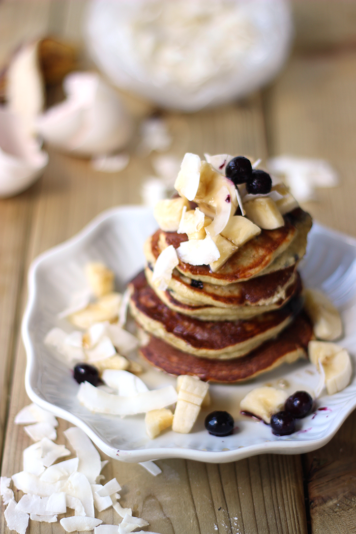 Healthy banana paleo coconut flour pancakes banana pancakes ccuart Gallery