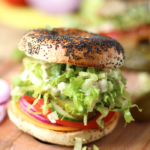 Vegan Caesar Bagel | College Dorm Recipes