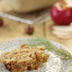Apple Chestnut Stuffing Loaf Recipe |Thanksgiving Recipes