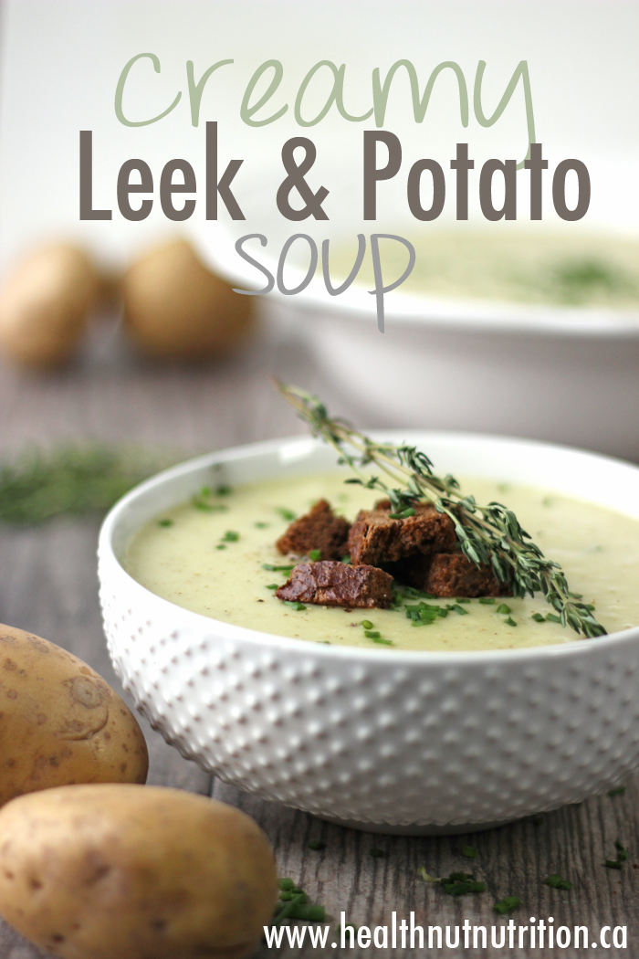 how to make leek and potato soup