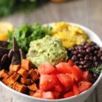 Taco Salad Bowl with a Creamy Hemp Ranch Dressing