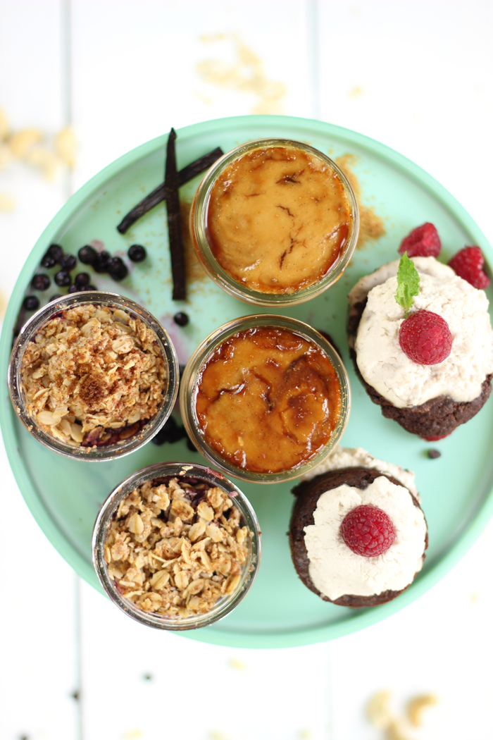 3 Vegan Desserts for Two