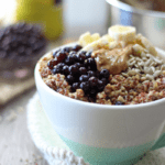 Red Quinoa Oatmeal