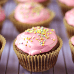 Gluten Free Double Chocolate Cupcakes with Pink Buttercream Frosting