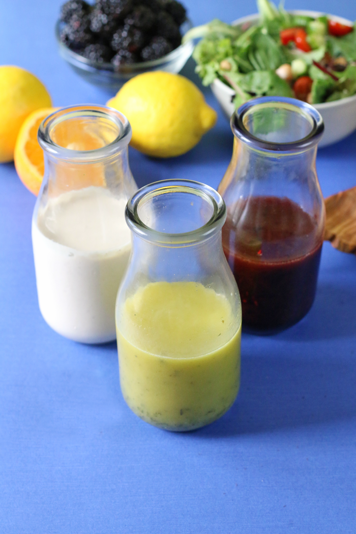 3 Healthy Summer Salad Dressing recipes your salads are going to love!