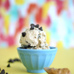 Dairy-Free Peanut Butter Chocolate Chip Homemade Ice-Cream