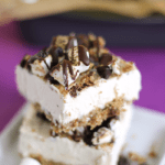 No-bake S'mores Cheesecake Bars | Dairy-Free