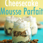 Dairy-Free Pumpkin Cheesecake Mousse Parfait