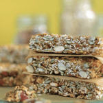 Chewy Trail-Mix Granola Bars