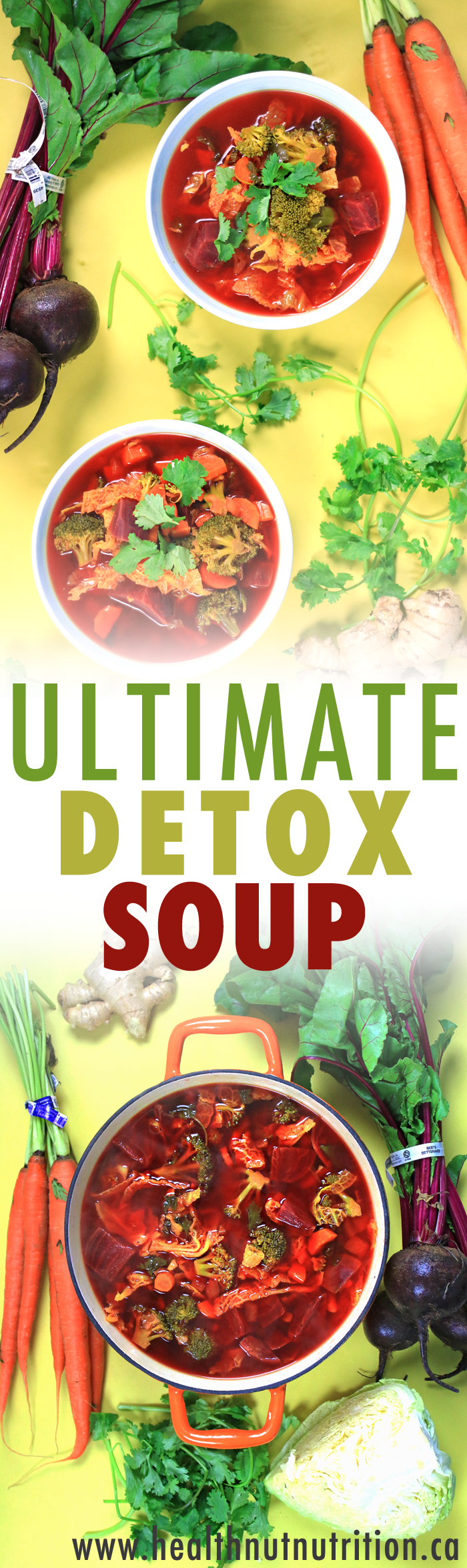The ULTIMATE DETOX SOUP | Vegan & GF