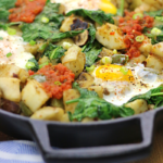 Egg and Potato Breakfast Skillet