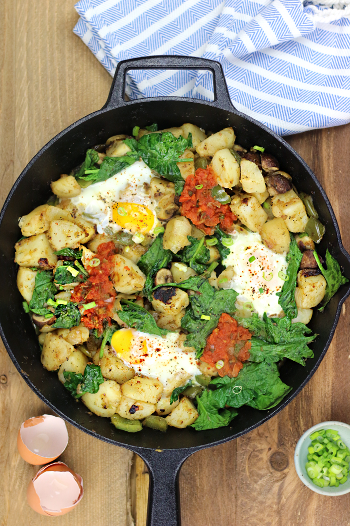 EASY Egg and Potato Breakfast Skillet | DF & GF