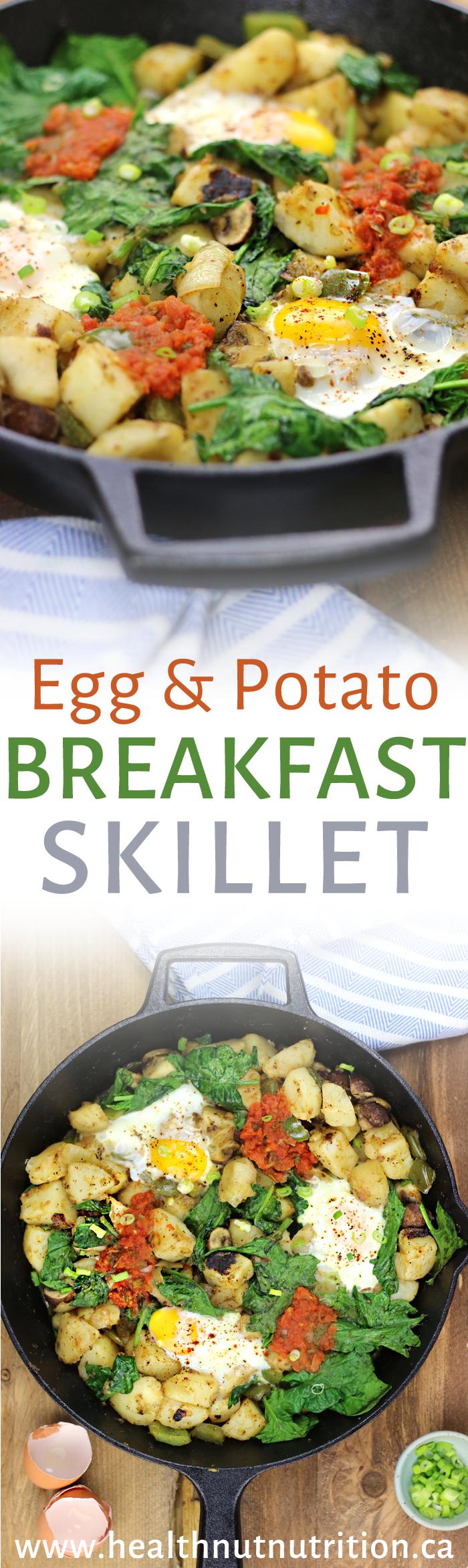 EASY Egg and Potato Breakfast Skillet   DF & GF