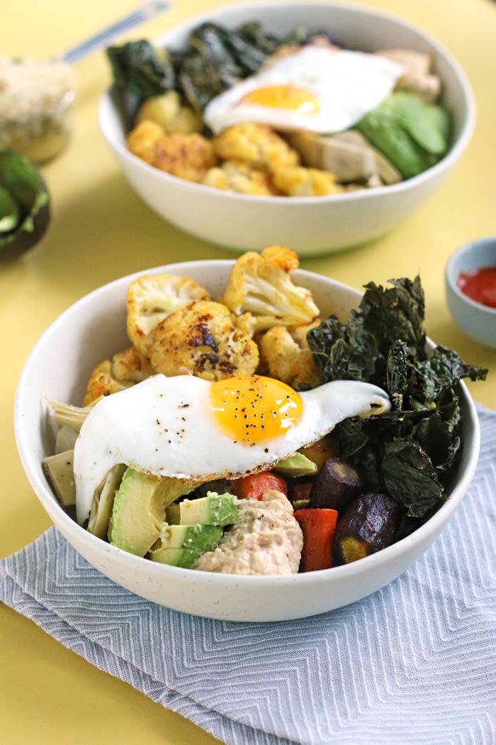 Healthy RAINBOW Protein Power Bowl   HEALTHNUT NUTRITION