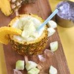 Pineapple Cucumber Fruit Slushy