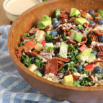 Apple Bacon and Kale Salad