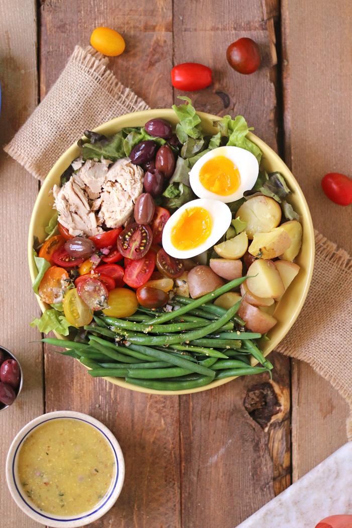 A Healthy Classic Nicoise Salad
