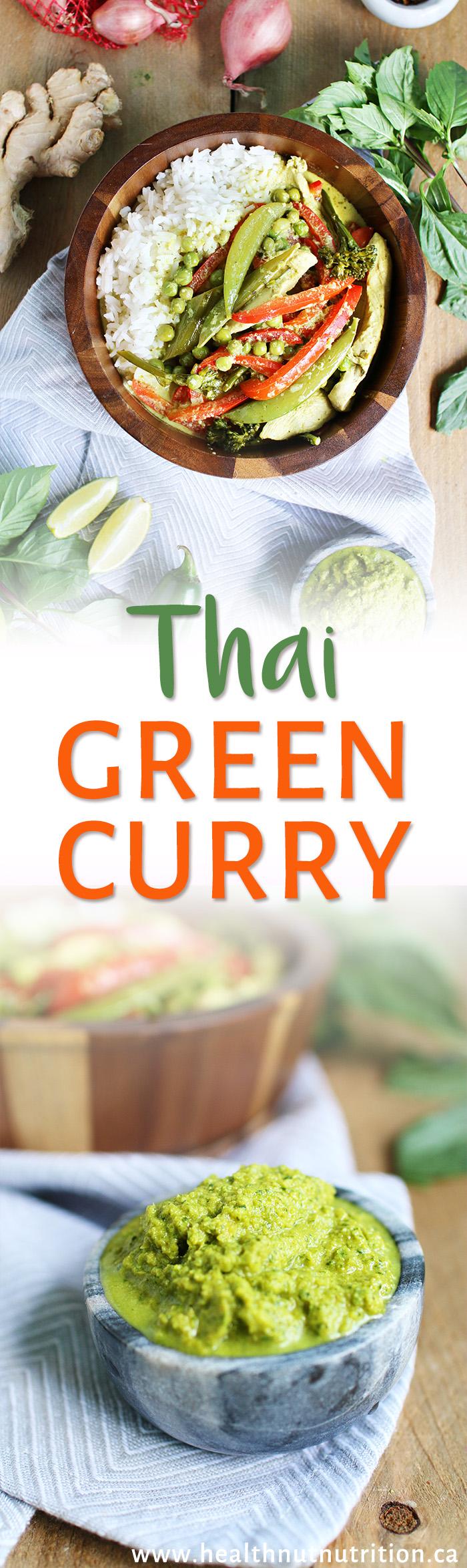 The best Thai Green Curry recipe in under 30 min!