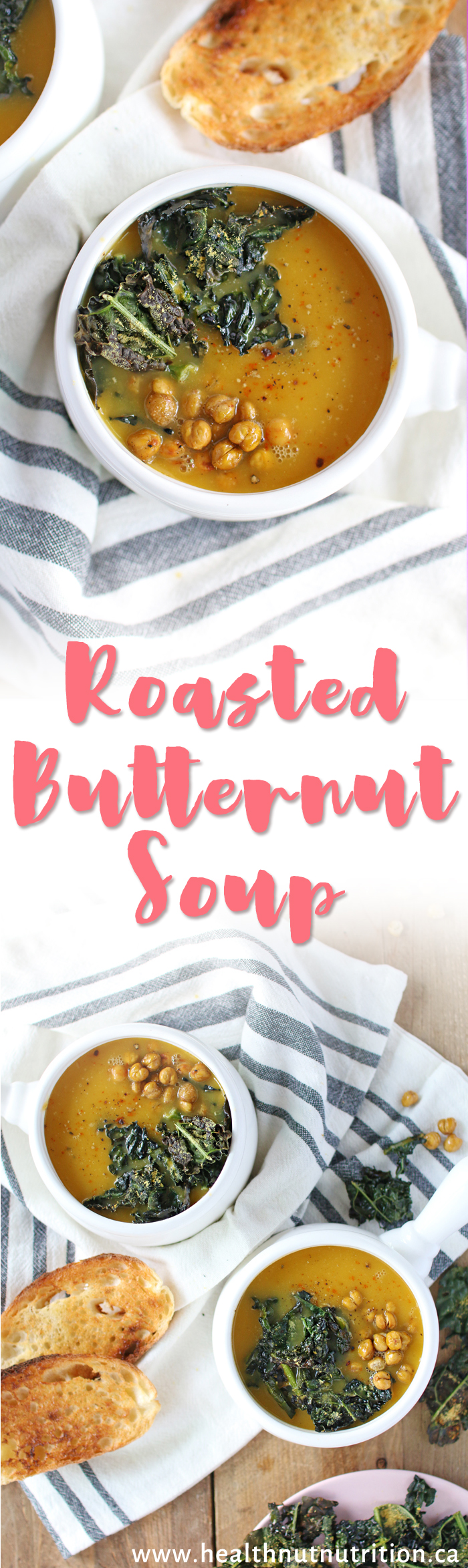 Perfect Roasted Butternut Squash Soup