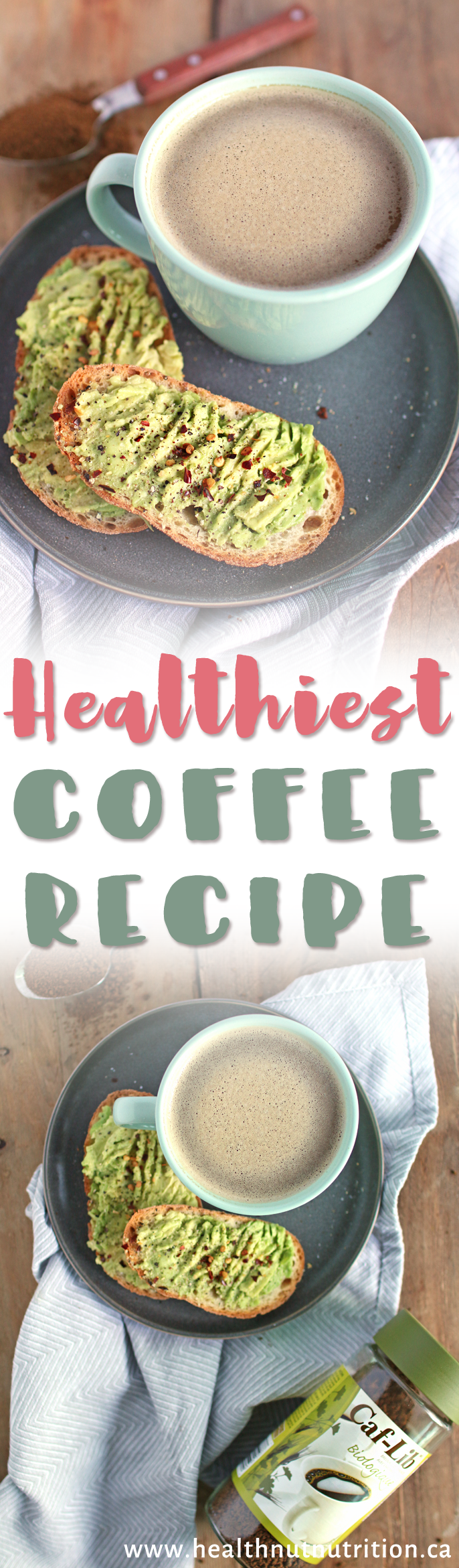 "The best morning ""coffee"" you will ever drink! #ad"