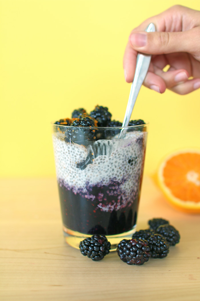 Chia Pudding Fruit Parfaits - 30 min!