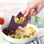 Mexican Quinoa Burrito Bowl