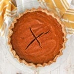 Easy Healthy Pumpkin Pie