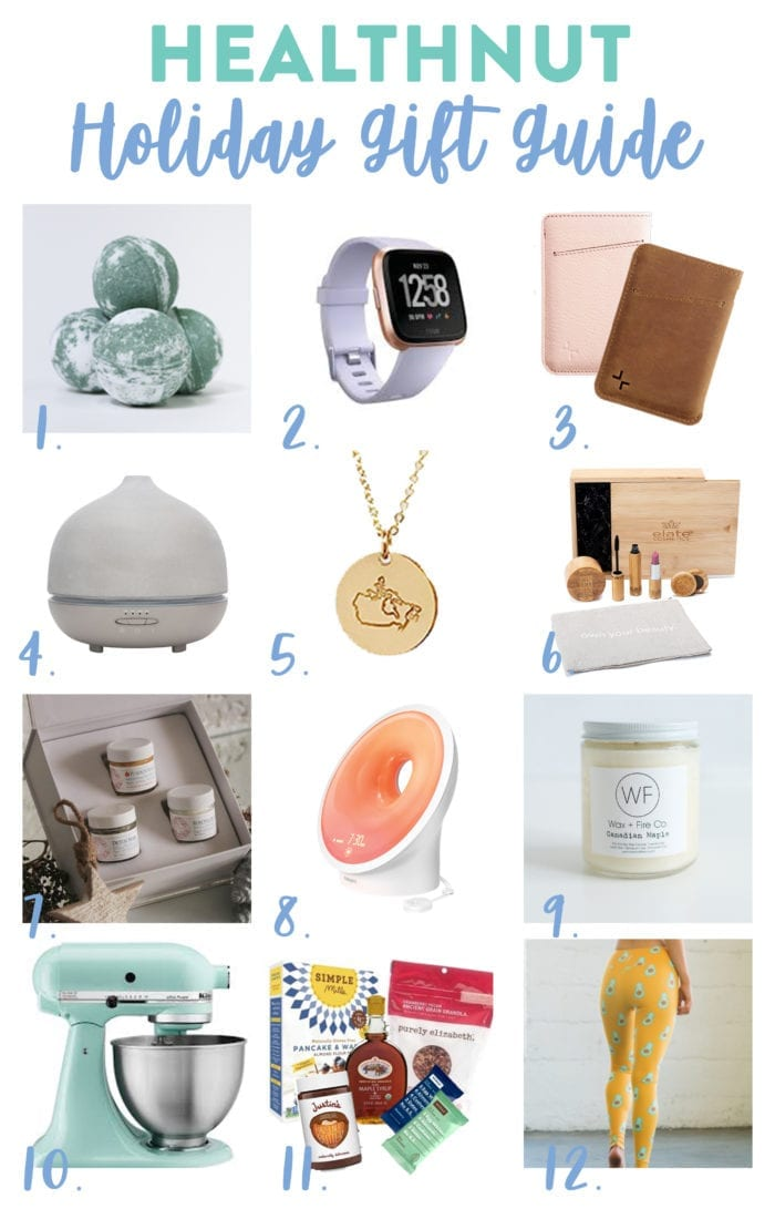 healthnut holiday gift guide