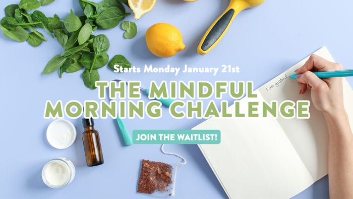 FREE Mindful Morning Challenge