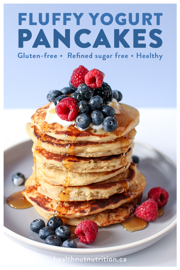 The fluffiest pancakes made with wholesome ingredients that are gluten-free; these are perfect for your next Sunday feast.