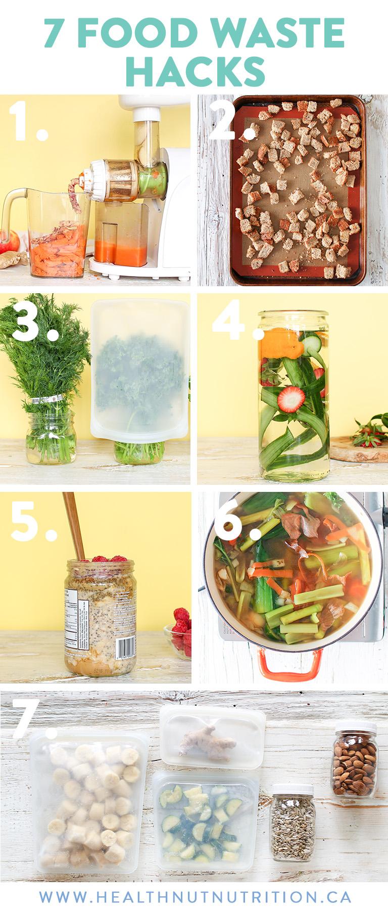 7 Food Waste Hacks