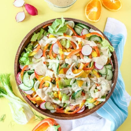 Citrus Fennel Spring Salad