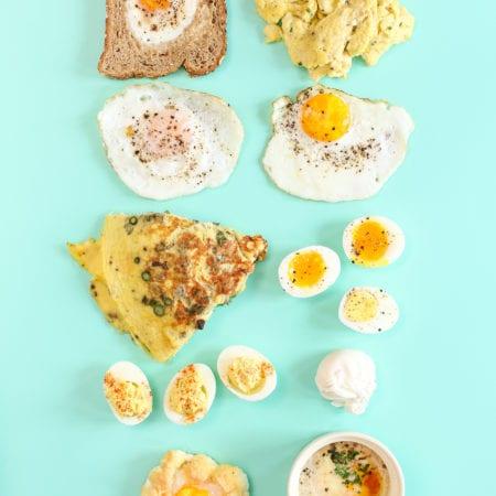 Eggs 10 Ways