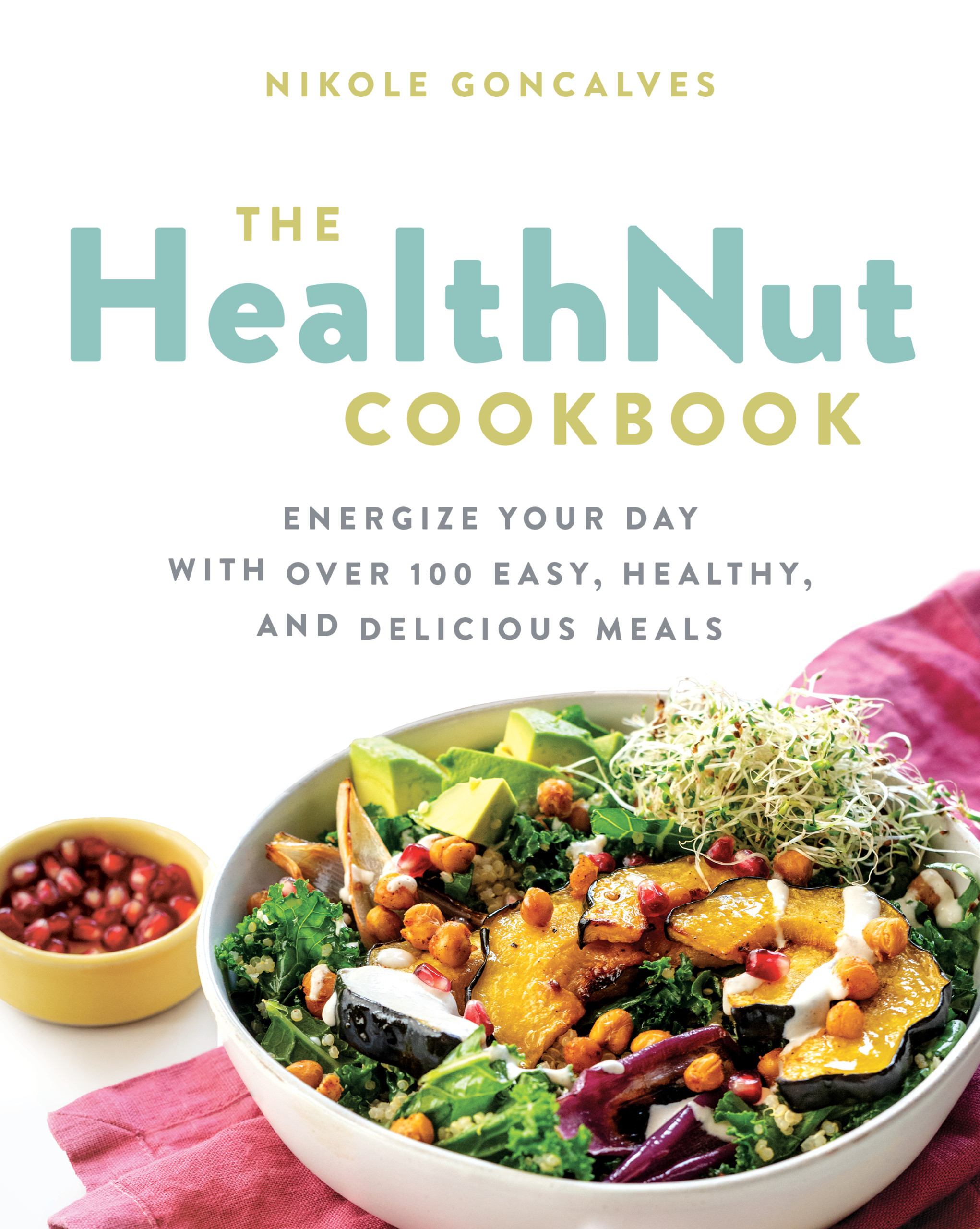 Health Nut Cookbook Cover