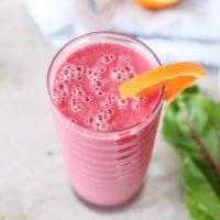 Berry Beet Orange Smoothie