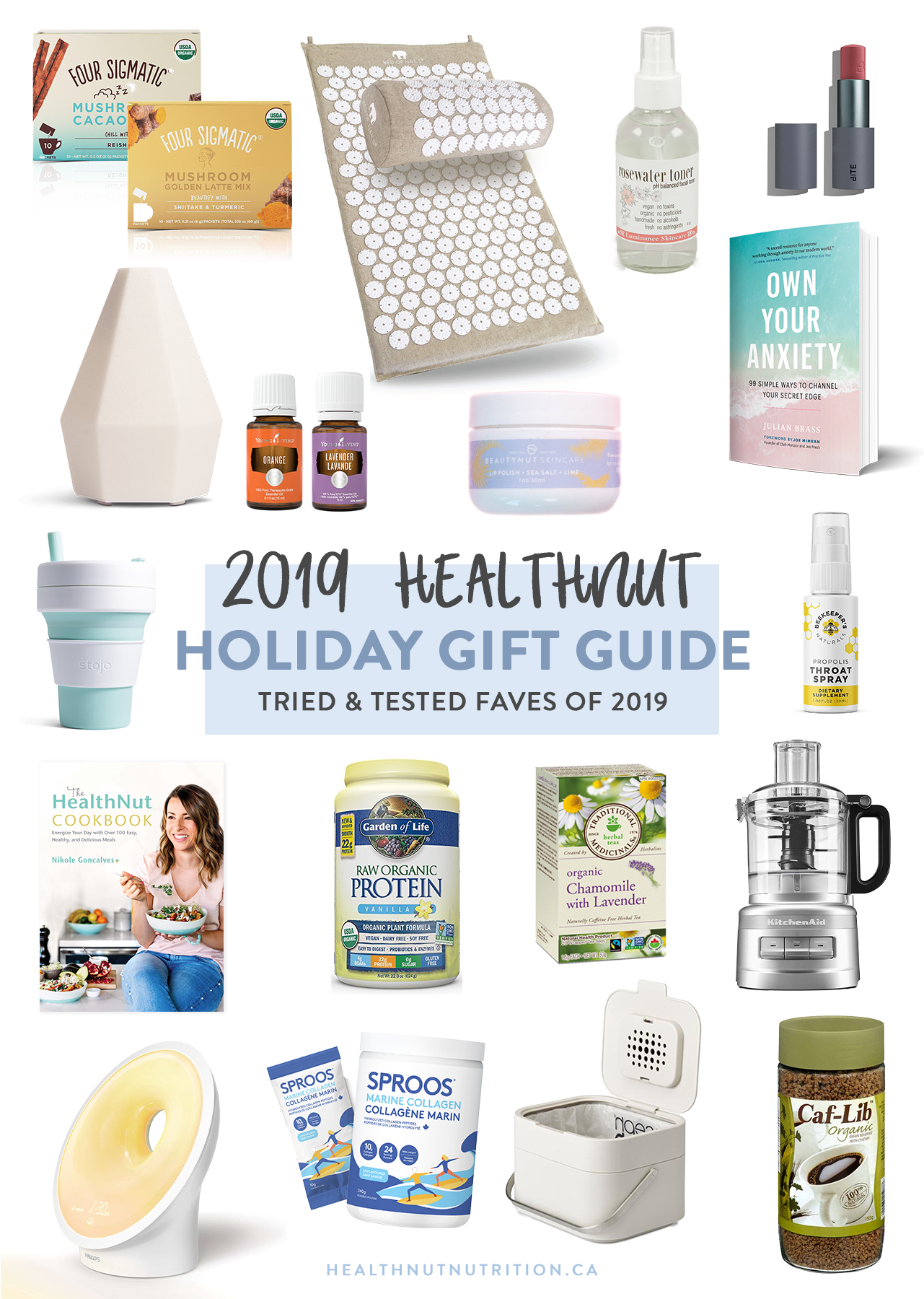 I'm going to make your Christmas shopping easy and fun with affordable gifts under $25, ideas for those friends and family members who already have everything, and unique gift ideas I bet you've never thought of. Some of these items will not surprise you because you've probably heard me raving about them before… but some of these ideas are new products that I just recently fell in love with, and I know you're going to love as well. This is quite an extensive list, so I've broken it up into categories to make things easier!