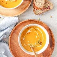 Creamy Pumpkin Coconut Soup