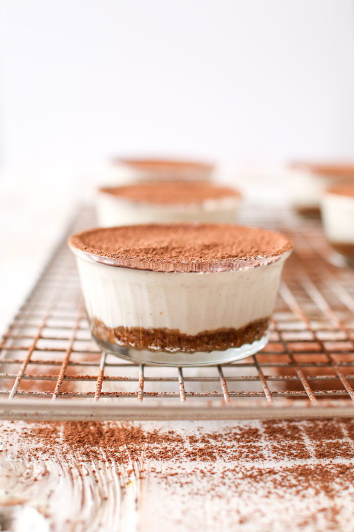 The best dairy-free tiramisu, so creamy you wouldn't believe that it's plant-based! Made with tofu, dates, and almonds, it's a great way to indulge in this Italian dessert classic.