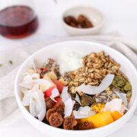 Yogurt Fruit & Granola Bowl