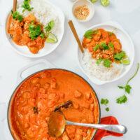Homemade Massaman Curry