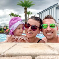 What I Eat In A Day On Vacation (And What My 7 Month Old Eats)