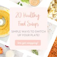 20 Healthy Food Swaps