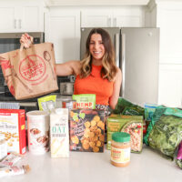 Trader Joe's Haul: What We're Eating While On Vacation!