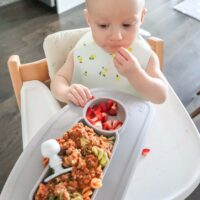 What My 11 Month Old Eats In A Day